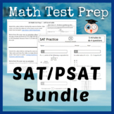 SAT Math TEST PREP BUNDLE - Blended Learning