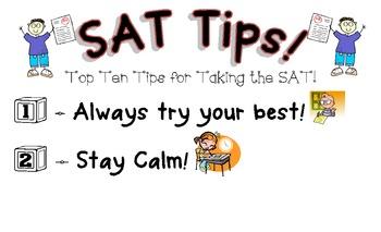 SAT TEST TAKING TIPS EPUB DOWNLOAD