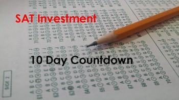 SAT Testing Countdown Posters