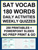 SAT Vocabulary Bell Ringers - 180 Daily SAT Words, PPT, 36