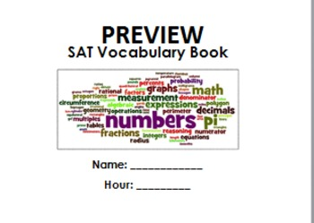 SAT Vocabulary Book
