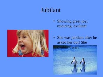 SAT Vocabulary-Happy Words