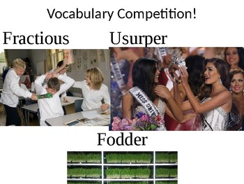 SAT Vocabulary Pictorial Study Guide