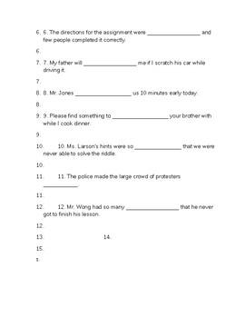 SAT Vocabulary Quiz #3