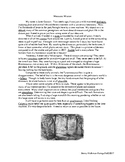 SAT Vocabulary Story Mesozoic Time Travel