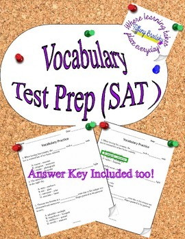 SAT Vocabulary Test Prep