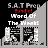 SAT Vocabulary Word of the Week BUNDLE