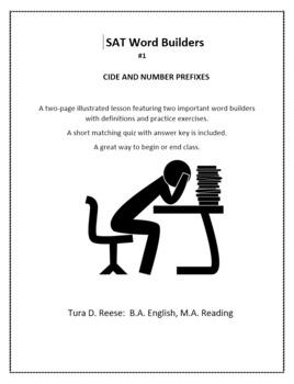 SAT Word Builders #1-6