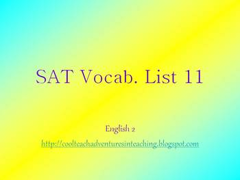 SAT Words 31-40