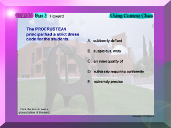 SAT Words College