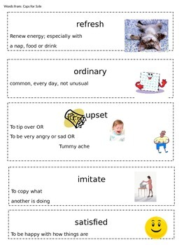 SAT Words for Kindergarten