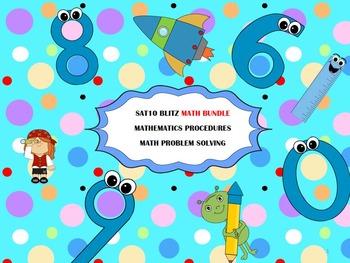 Second Grade SAT10 Math Bundle - Math Procedures and Probl