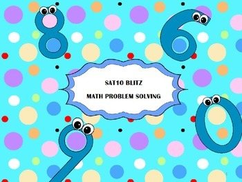 SAT10 Blitz Math Problem Solving