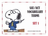 SAT/ACT Vocabulary Set 1: You'll be drawn to it!