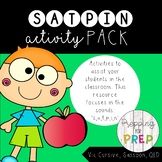 SATPIN activity pack (Synthetic Phonics in three font options)