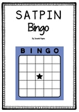 SATPIN Bingo - Black and White