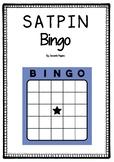 SATPIN Bingo - Black and White