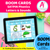 SATPIN Phonics Letters & Sounds BOOM Cards For Distance Learning