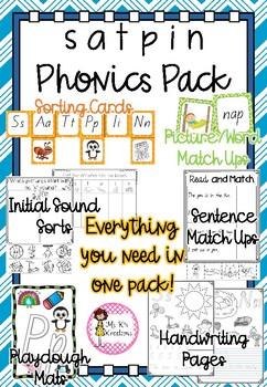 SATPIN Phonics Pack