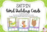 SATPIN Word Building Cards