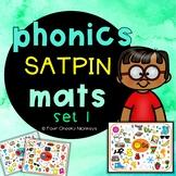 SATPIN phonics mats | Jolly Phonics activities