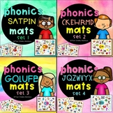 SATPIN  phonics mats BUNDLE   Jolly Phonics activities