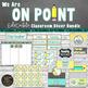 Pencils Classroom Theme Decor Bundle - Editable