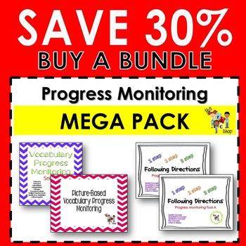 {SAVE 30%} PROGRESS MONITORING MEGA PACK!!!