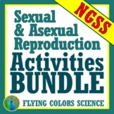 SAVE 30%!  Sexual & Asexual Reproduction ACTIVITY BUNDLE NGSS MS-LS3-2