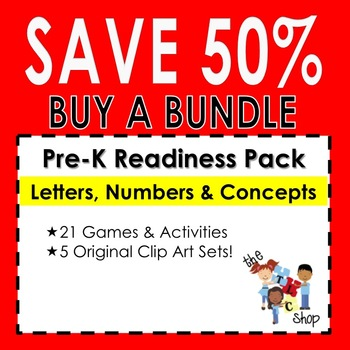 {SAVE 57%} PRE-READINESS ACTIVITY BUNDLE!!!