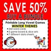 {SAVE 50%} WINTER LONG VOWEL GAMES BUNDLE!!!