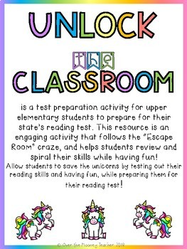 SAVE THE UNICORNS Unlock the Classroom 5