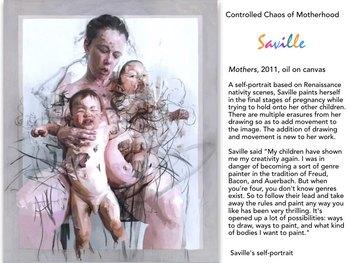 SAVILLE Jenny Saville Paint Art UK