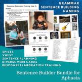 SAVINGS BUNDLE: Sentence Building Activities for Aphasia (TEENS & ADULTS)