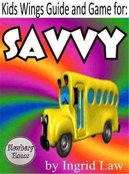 SAVVY by Ingrid Law!  A Newbery Honor Book! Share the magic of finding a talent!