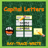 Letters Practice:  Uppercase Letters Flashcards