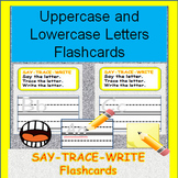 Letters Practice:  Uppercase and Lowercase Letter Flashcards