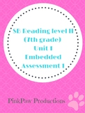 SpringBoard Level 2/Grade 7 Unit 1 Embedded Assessment 1