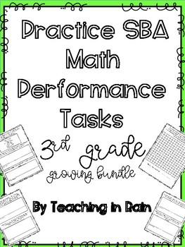 SBA Math Performance Tasks- Growing Bundle