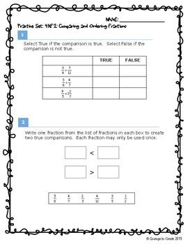 SBA Test Prep 4.NF.2