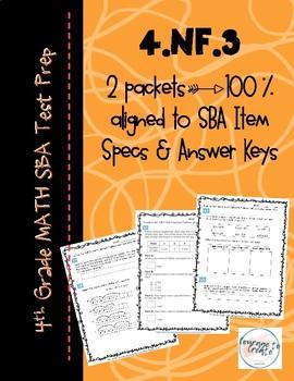 SBA Test Prep 4.NF.3