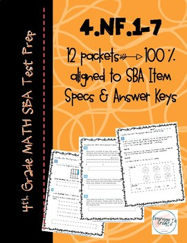 SBA Test Prep 4.NF BUNDLE