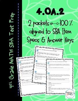 SBA Test Prep 4.OA.2