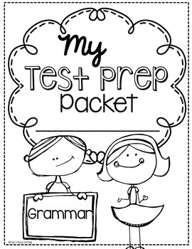 3rd Grade Grammar Test Prep Language