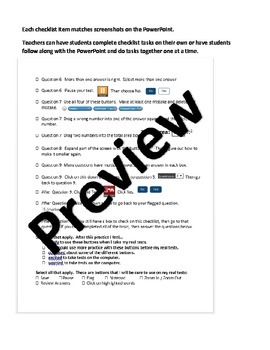 Updated SBAC 3-5 Training Test Resources
