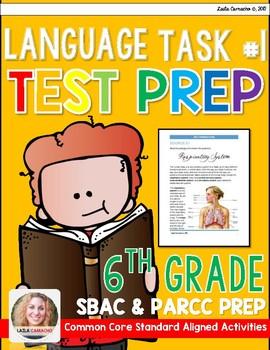 SBAC and PARCC 6th Grade ELA Task 1