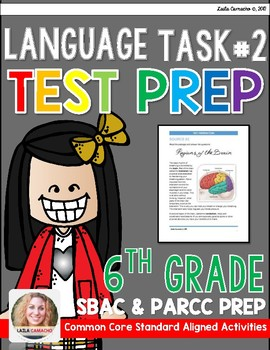 SBAC and PARCC 6th Grade ELA Task 2
