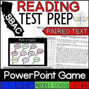 SBAC Drama PowerPoint Game