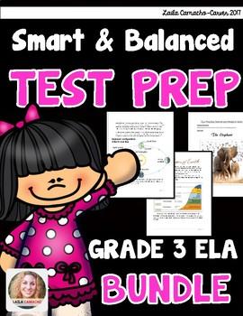 SBAC and PARCC ELA 4th Grade BUNDLE