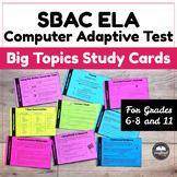 "SBAC ELA Computer Adaptive Test (CAT) ""Heavy Hitters"" Study Sheet"